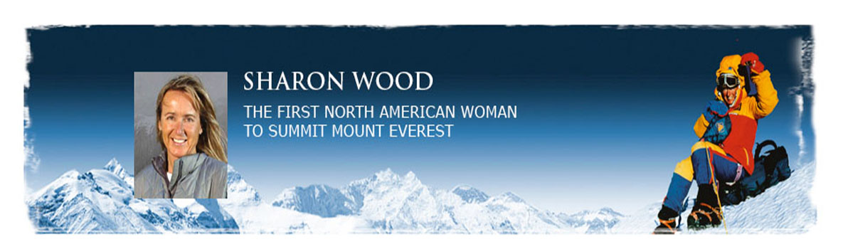 Sharon Wood speaks at Oak Knoll School of the Holy Child